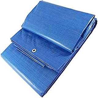 SEIMARK Toldo Protector Rafia Reforzado Azul 90 gr/MT con Ojales (4 x 6