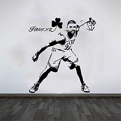 58x66cm Baloncesto Estudiante Dormitorio Cartel Moda Etiqueta de la pared creativa