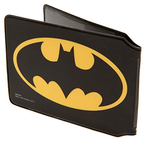 Batman - Tarjetero (10 x 7.5cm/Negro/Amarillo)