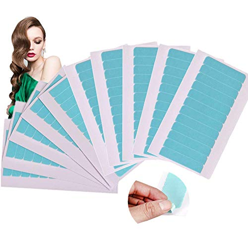 Ersatz Tapes, Haarverlängerung klebeband, Hair Klebeband, Hair tape, Ersatztapes Klebestreifen Klebeband, Klebeband für Haarverlängerungen Haareinschlag, Ungefährlich(120 Stück)