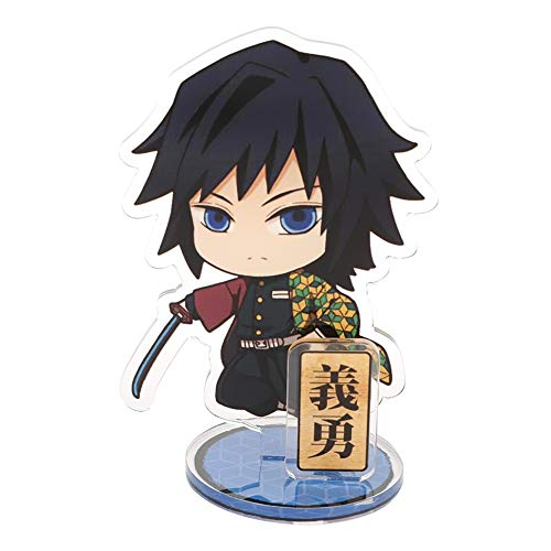 SGOT Anime Acryl Action Figur Dororo Hyakkimaru Demon Slayer: Kimetsu no Yaiba Standing Figur Actionfigur Desk Stand Miniature( Demon Slaye 04)