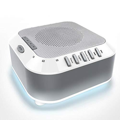 Office Noise Sleep Sound Machine Ocean Natuurlijke baby Rain Travel Ontspanning Soothing Lullaby Nightlight For Kids