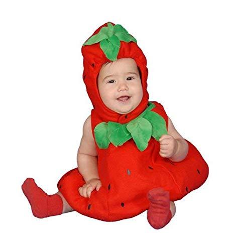 Dress Up America Costume mignon de fraise de bébé, Taille 6/12 mois