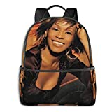 Whitney Houston University School Large Capacity Backpack Computer Bag Unisex Suitable Hiking Variety Outdoor Sports