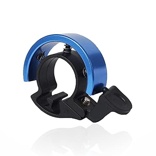 sinzau Timbre para bicicleta en forma de Q para manillar de bicicleta con diámetro de 2,1-2,3 cm, color azul