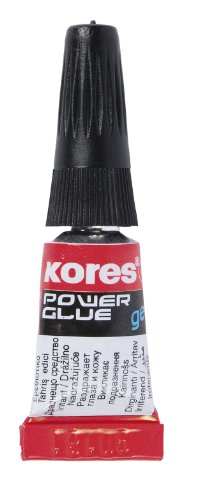 Kores secondelijm Powerglue gel, vloeibaar, fijne punt, 3 g, transparant