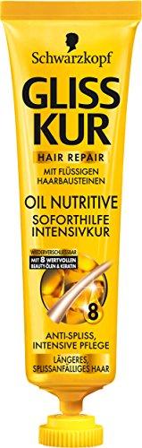 Schwarzkopf Gliss Oil Nutritive Soforthilfe Intensivkur, 5er Pack (5 x 20 ml)