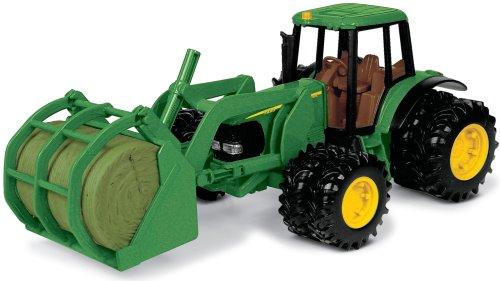 ERTL John Deere Tractor With Bale Mover