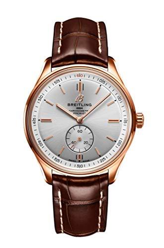 Breitling Premier reloj automático de oro rosa sólido