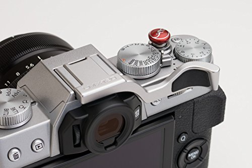 Lensmate Thumb Grip for Fujifilm X-T20 (Also fits X-T10) - Silver