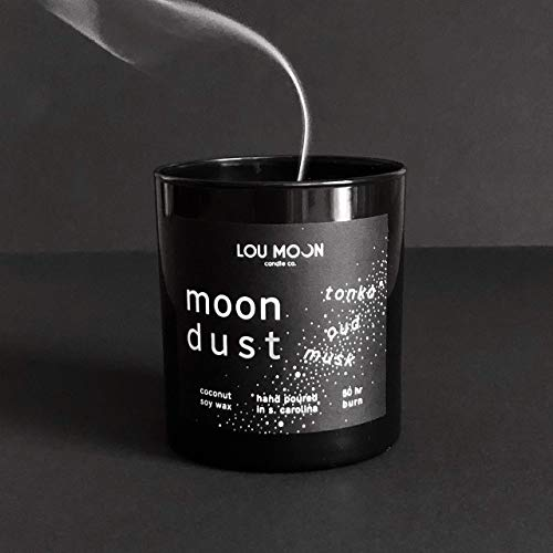 Coconut Soy Hand-Poured Candle Moon Dust