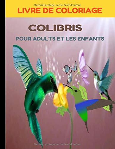 LIVRE DE COLORIAGE COLIBRIS: POUR ADULTS ET LES ENFANTS CONCEPTION ANTI-STRESS 50 DESIGNS