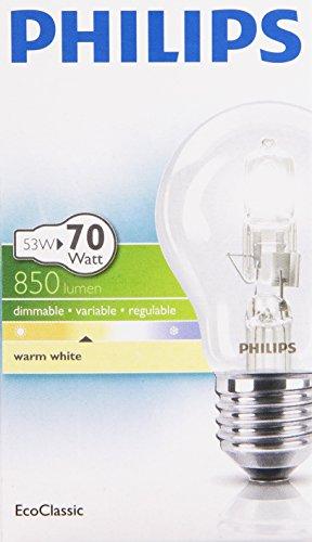 Philips 321684 Energy Saving Bulbs 53W E27, 53 W