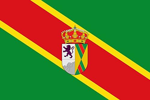 magFlags Bandera Large Municipio de Orusco de Tajuña Comunidad de Madrid   Bandera Paisaje   1.35m²   90x150cm