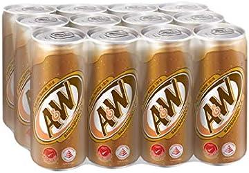 A&W Sarsaparilla Root Beer, 12 x 320ml