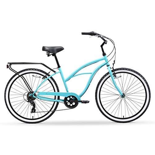 41lngEhh2uL. SL500 Schwinn Perla Womens Beach Cruiser Bike