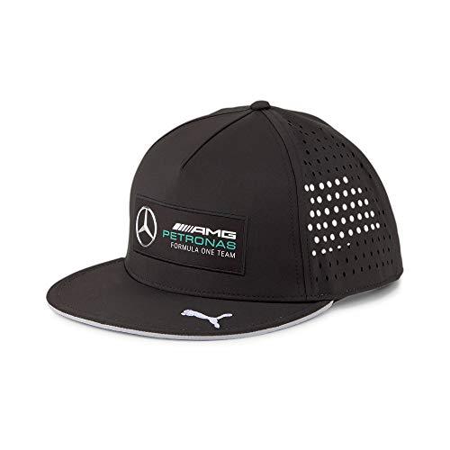 PUMA x Mercedes AMG Petronas Motorsport F1 Formula One Adjustable Snapback Hat (Black)