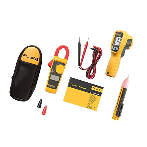 Fluke FL62MAX+/3231AC Stromzange, Hand-Multimeter digital CAT III 600 V, CAT IV 300V Anzeige (Counts