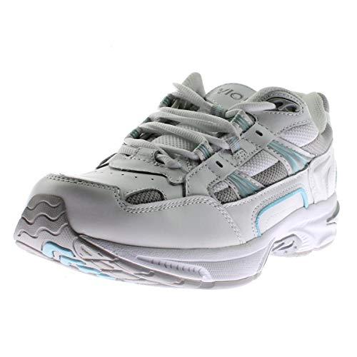 Vionic Women's Walker Classic Shoes, 9 B(M) US, White/Blue