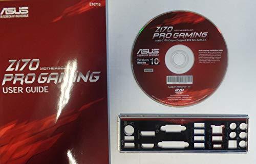 ASUS Z170 Pro Gaming Handbuch - Blende - Treiber CD