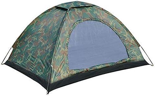 Qifengshop Double Tente extérieure de Camouflage, Moustique Anti-Pluie de touristes, Tente de Camping imperméable d'Oxford