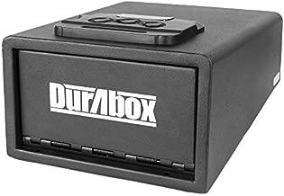 DuraBox Pistol Safe with Digital Lock, Smart Quick Access Gun Safe (Standard)