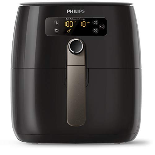 Philips Avance Collection Airfryer HD9745/90 Avance Collection Airfryer HD9745/90, Friteuse dair Chaud, 0,8 kg, TurboStar, 1 h, 4 Personne(s), 60 Min