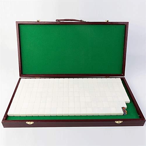 WDFDZSW 30mm Mini Mini Mahjong Tabla Dormitorio Portátil Dormitorio Dormitorio Hogar Dibujos Animados Lindos Little Mahjong Azulejos