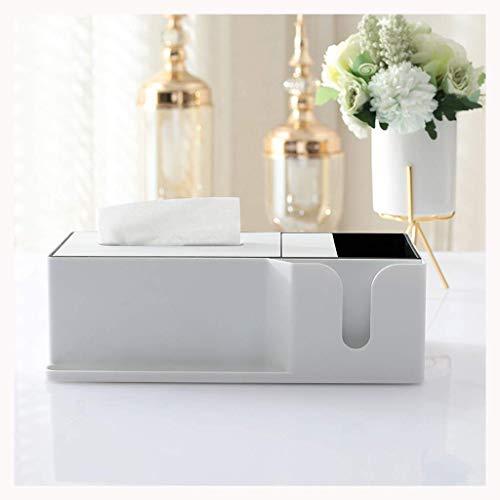 JIANGCJ Bien parecido Caja de pañuelos Sala de Estar Tabla de café Control Remoto Caja de Almacenamiento Multifunción Buje de Bombeo INS Caja de Tejido doméstico Creativo (Color : D)