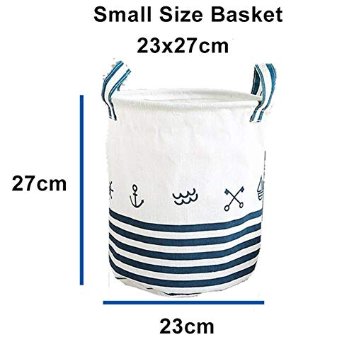 DFYUTJ 35 * 45cm Waterproof Storage Basket For Toy Dirty Laundry Basket Bag Clothes Toys Storage Box Sundries Fabric Folding Laundry basket with waterproof coating (Color : Xiaohao)