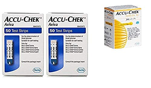 Accu-Chek aviva 100 tiras 50 softclix