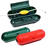 3 Pack Electrical and Extension Cord Protective Cover Set | Indoor Outdoor Water-resistant Holder for String Lights, Plugs and Connectors | Capsule Shaped Protector with Large Compartment