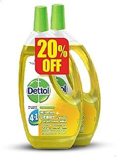 منظف متعدد الاغراض برائحة الليمون من ديتول، قطعتين - 1.3 لتر