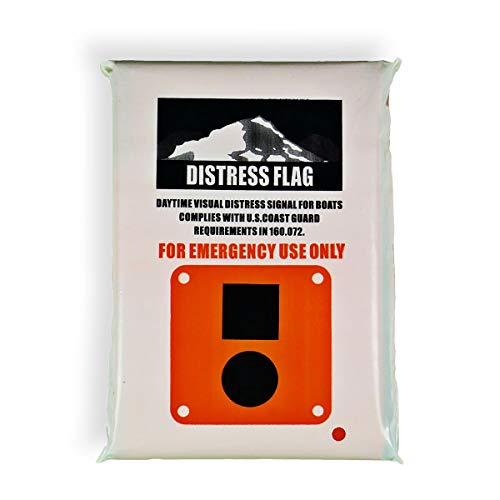 Goglobe Distress Flag for Boating Hiking Fishing Climbing Kayaking Camping 3 Feet