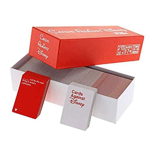 Carte Contro L'umanità Edition - Incohearent Giochi da Tavolo per Adulti - Espansione Pazzo Partito Gioco di Carte di Giocattolo - Regali per Gli Amici delle Donne degli Uomini Giochi di società
