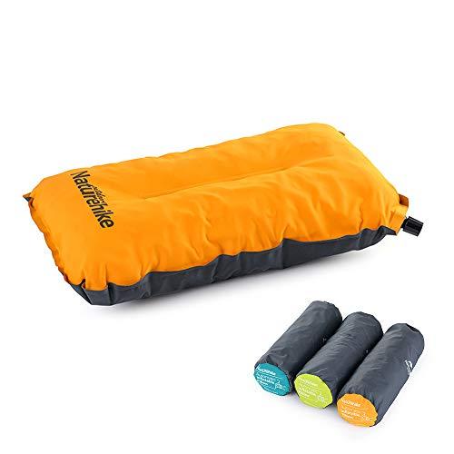 NatureHike 自動インフレーターピロー 超軽量インフレータブル 枕 トラベルアウトドア枕 キャンプ用品 収納...