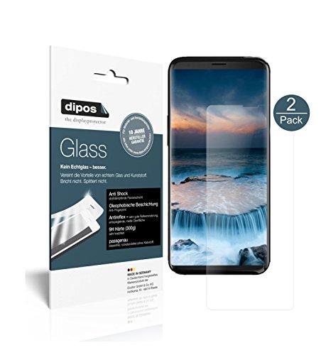 dipos I 2X Protector de Pantalla Mate Compatible con Uhans i8 Vidrio Flexible Cristal Proteccion 9H