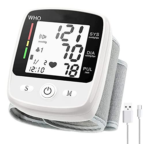 Wrist Blood Pressure Monitor, Blood Pressure Cuff...