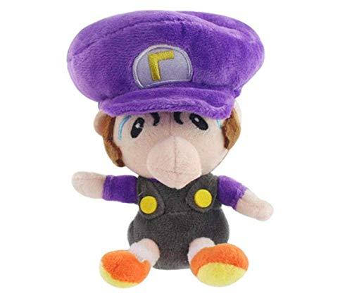 15cm Super Mario Son pluche pop kan passeren speelgoed Ragdoll Kids begeleidende speelgoed rugzak decoratie hanger-paars