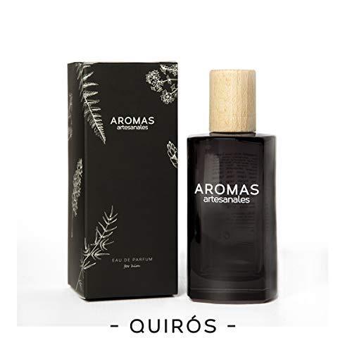AROMAS ARTESANALES - Eau de Parfum Quiros | Perfume con vaporizador para hombres | Fragancia Masculina 100 ml | Distintos Aromas - Encuentra el tuyo Aquí