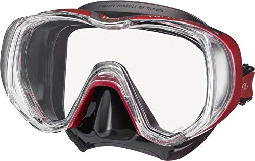 TUSA Tri-Quest Freedom - Taucherbrille tauchmaske schnorchelmaske Erwachsene Damen - Rose Pink/Black