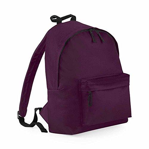 Bag Base - Sac à dos école loisirs - BG125 - rouge bordeau - 18L - mixte homme/femme