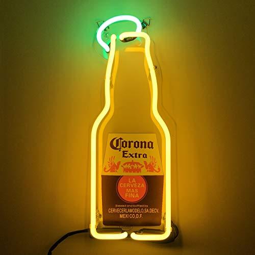Corona Extra Leuchtreklame Real Glasrohr Neon Licht für Mancave Bier Bar Pub Geschäft Garage Zimmer