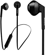 Magnavox - Bluetooth Stereo Headphones in Ear Earbuds, Wireless v4.1 Technology with Built in Mic, Black