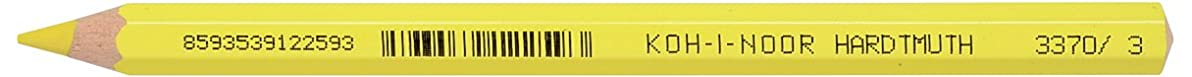 Koh-I-Noor 3720003007KS 3720 Aquarell Colored Pencil, Chrome Yellow (Box of 12)