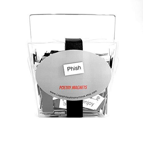 Phish Poetry Magnets / Refrigerator Magnets / Phish Phan / Phanart / Phish Merchandise / Phish Gift / Phish Lyrics / Phantasy / Phish Band