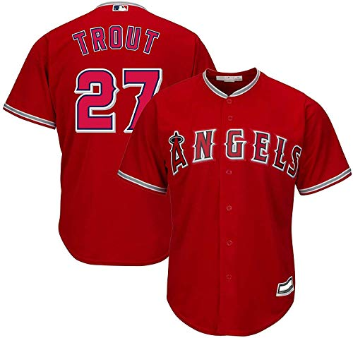 Outerstuff Mike Trout Los Angeles Angels MLB Boys Youth 8-20 Player Jersey...