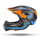 ROCK BROS Kids Bike Helmet Toddler Full Face Helmet Detachable Ultralight Mountain Bike Cycling...