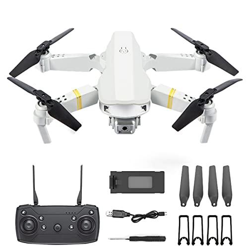 KUOPE Droni con Videocamera HD 4K per Adulti, Mini Drone Pieghevole per Bambini, Quadricottero per Principianti con modalità di Mantenimento Dell'altitudine per Regali per Ragazzi