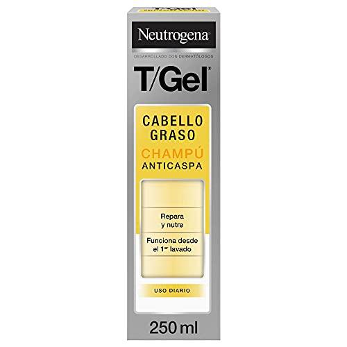 Neutrogena Champú T/Gel Cuidado del Cabello Normal Graso, 250 ml